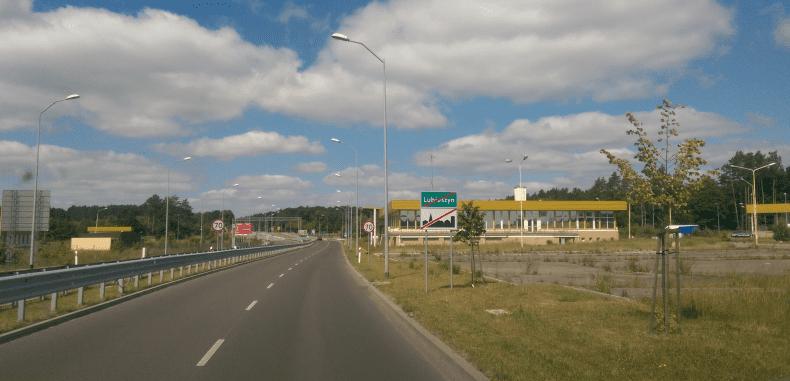 Droga do Świnoujścia przez Niemcy