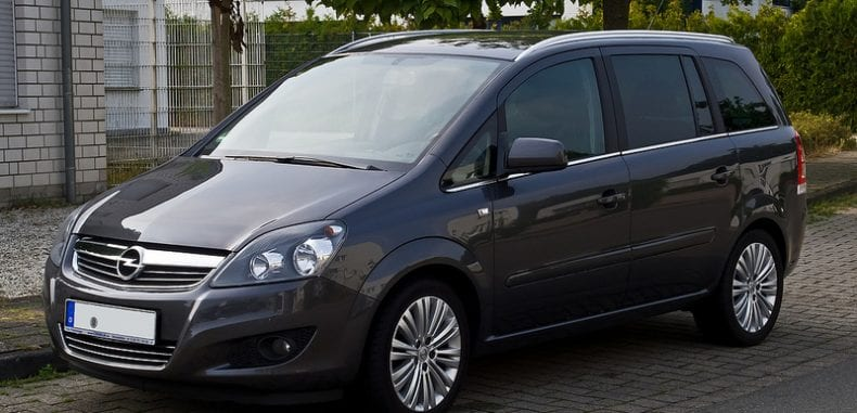 Opel Zafira – funkcjonalny minivan