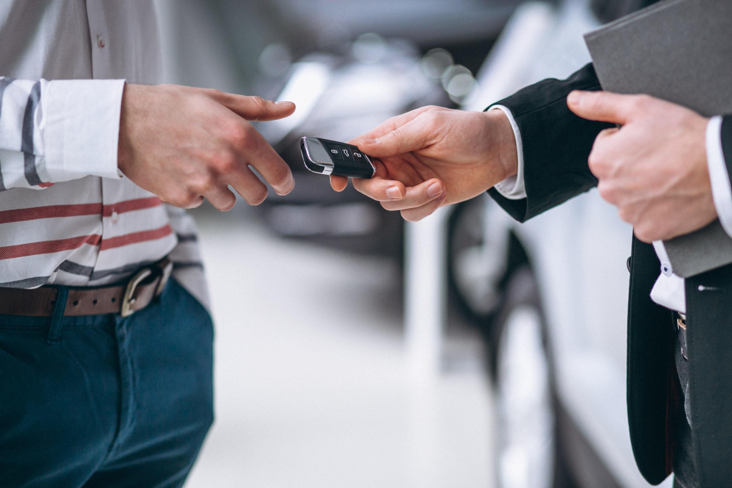 Samochód zastępczy z wypożyczalni